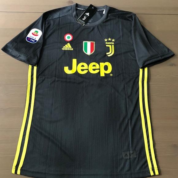 new style 43b44 8d03c Juventus away gray Ronaldo #7 Soccer jersey men NWT